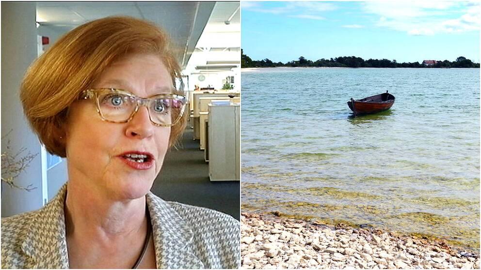 Cecilia Schelin Seidegård Landshövdning på Gotland samt Bästeträsk