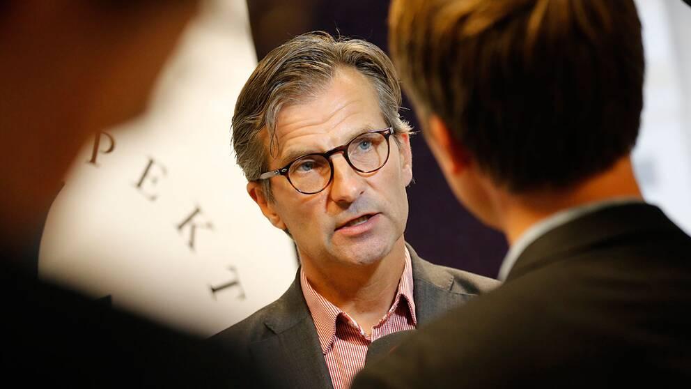 Finansinspektionens generaldirektör Erik Thedéen