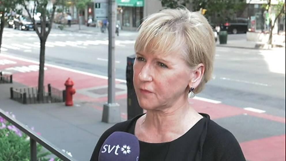 Utrikesminister Margot Wallström: Avtalen med Storbritannien kan ta lång tid att reparera