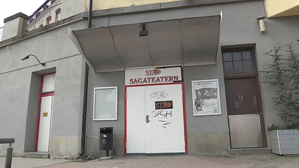Sagataeatern. Slut. STA. Teater.