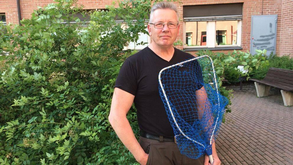 """Staffan """"Fågeldoktorn"""" Ullström är expert på skadade fåglar."""