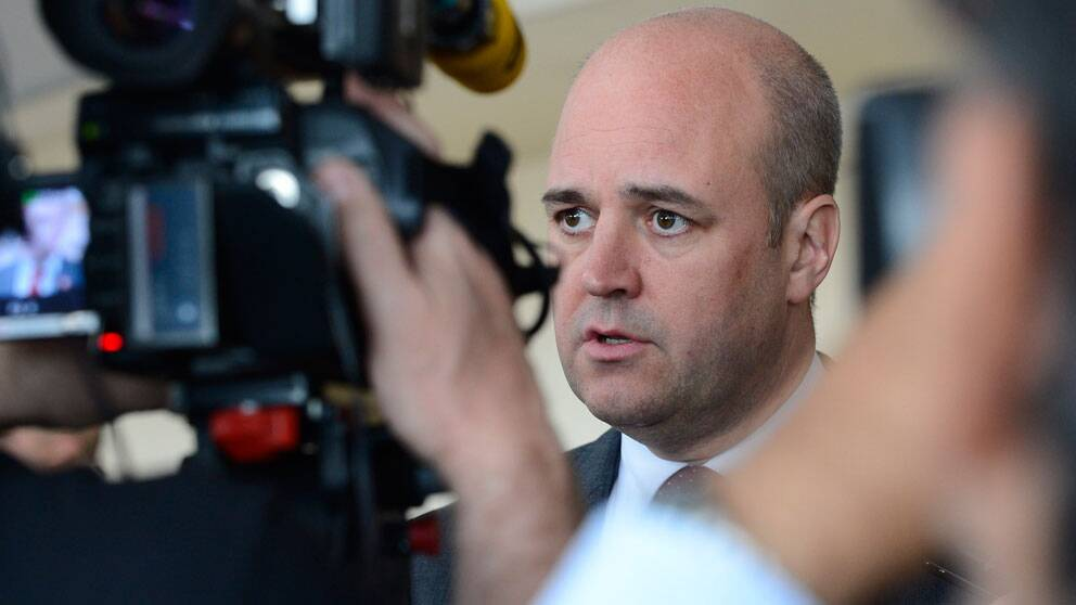 Statsminister Fredrik Reinfeldt (M). Foto: Scanpix