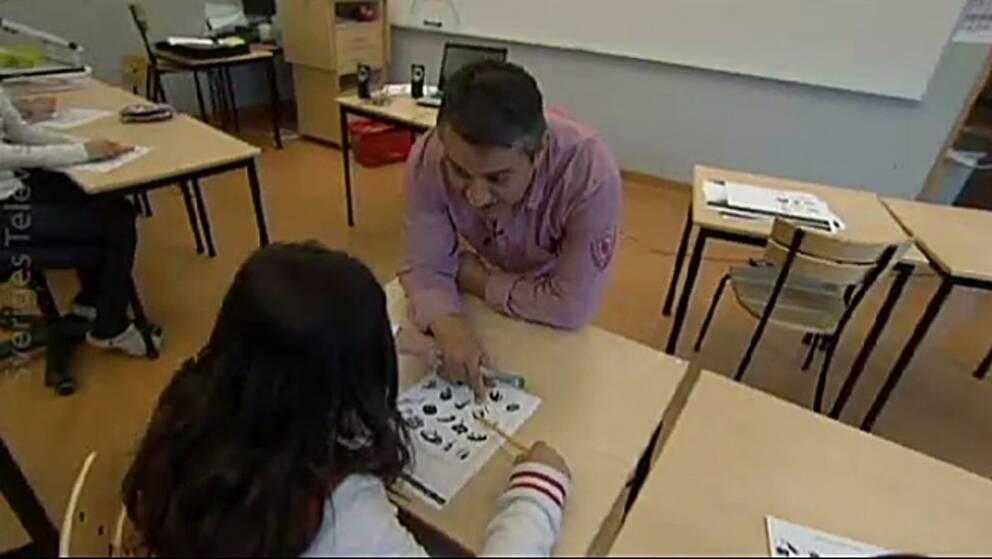Naim Tahiri undervisar