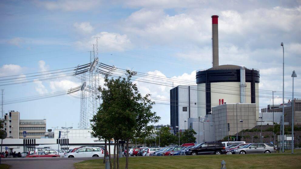 Kärnkraftverket Ringhals i Varbergs kommun.