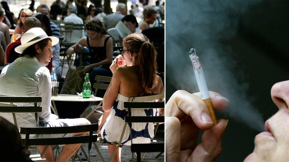 Rökning, uteservering