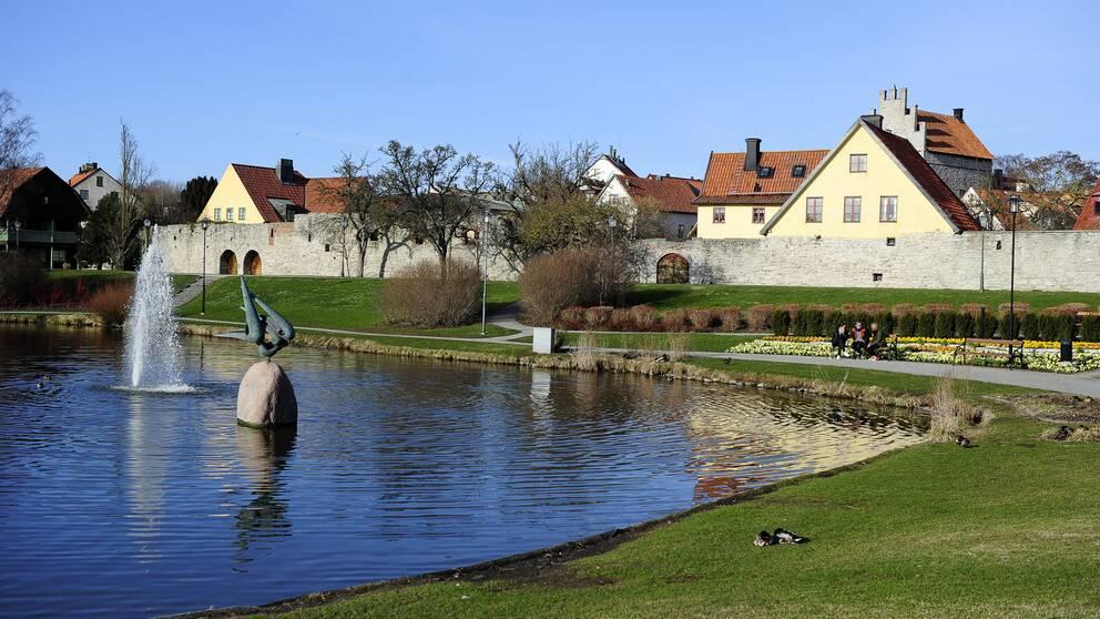 Visby, Almedalen.
