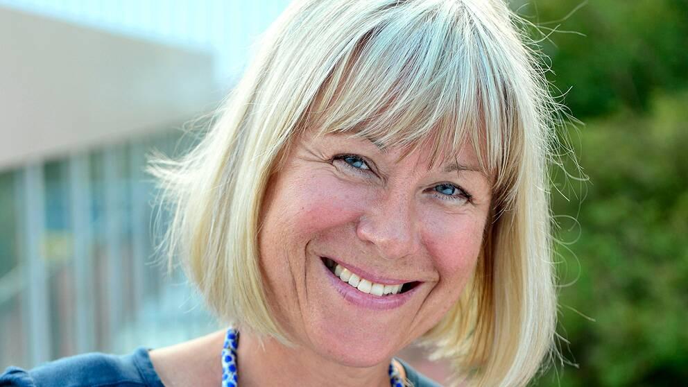 SVT:s medarbetare Kristina Kappelin