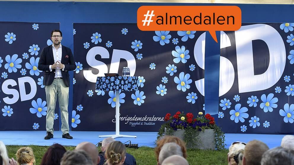SD:s dag i Almedalen, Visby 7 juli 2016.
