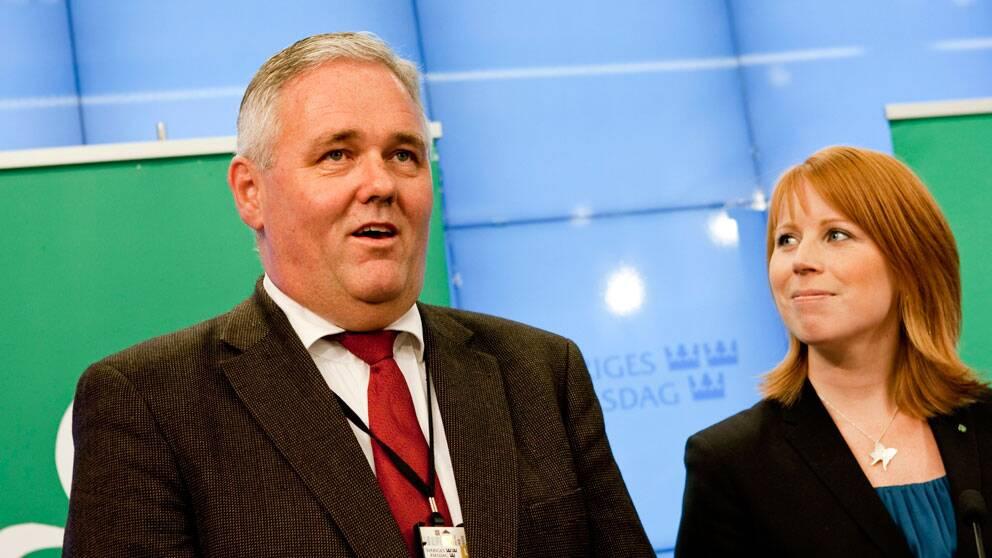 Anders W Jonsson, Centerns förste vice ordförande, tillsammans med partiordförande Annie Lööf.