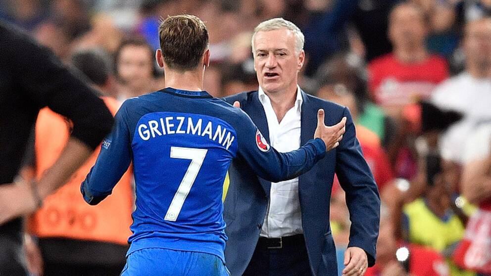 Griezmann skot frankrike till em final