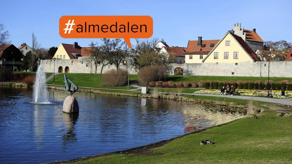 Almedalen, Visby