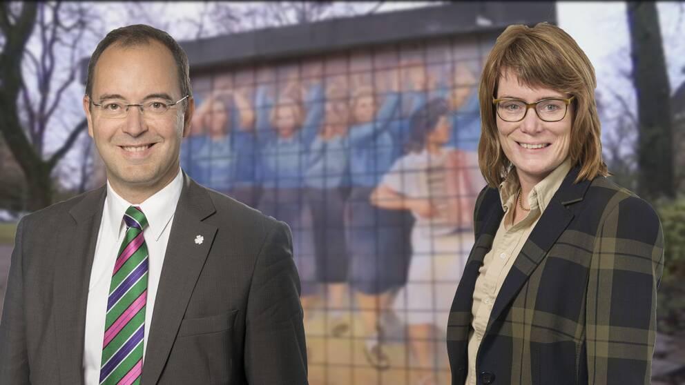 Stefan Hanna och Eva Edwardsson
