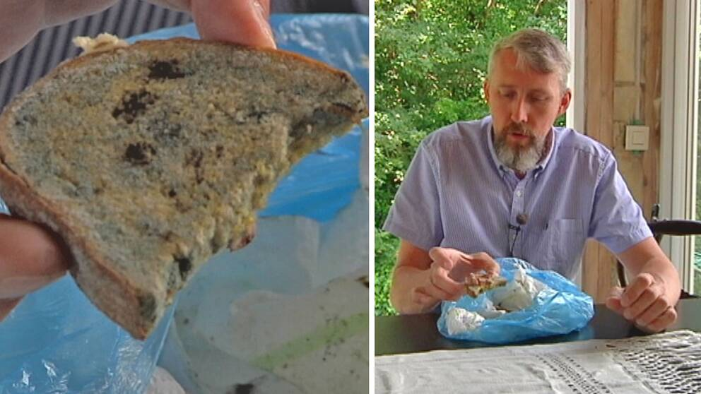 Jonas Hillerström larmade om att hemtjänsten lät en 97-åring äta mögligt bröd