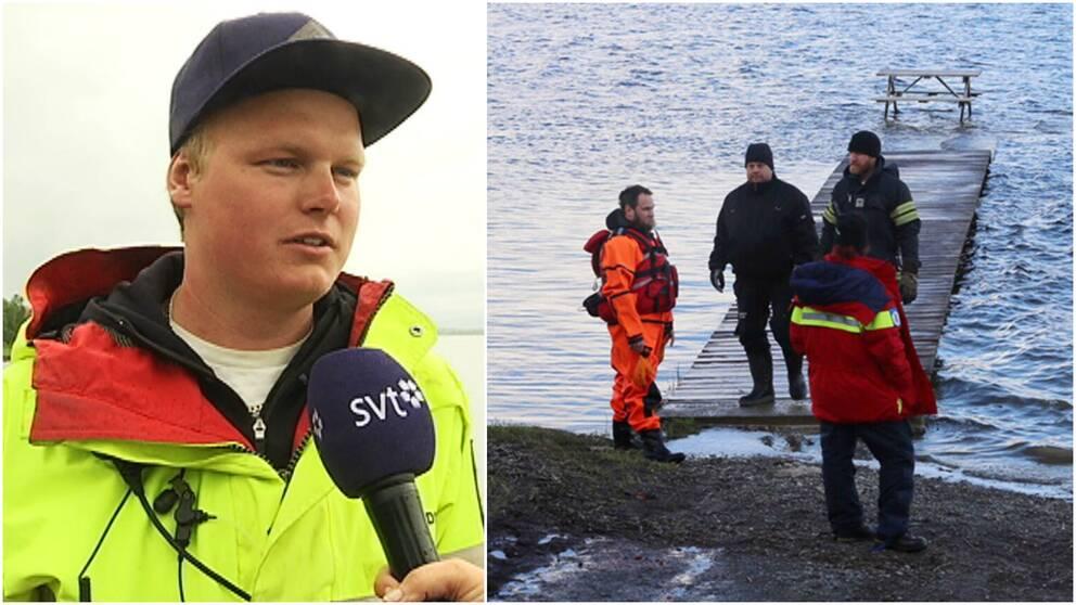 Fjällräddningens Jens Göransson