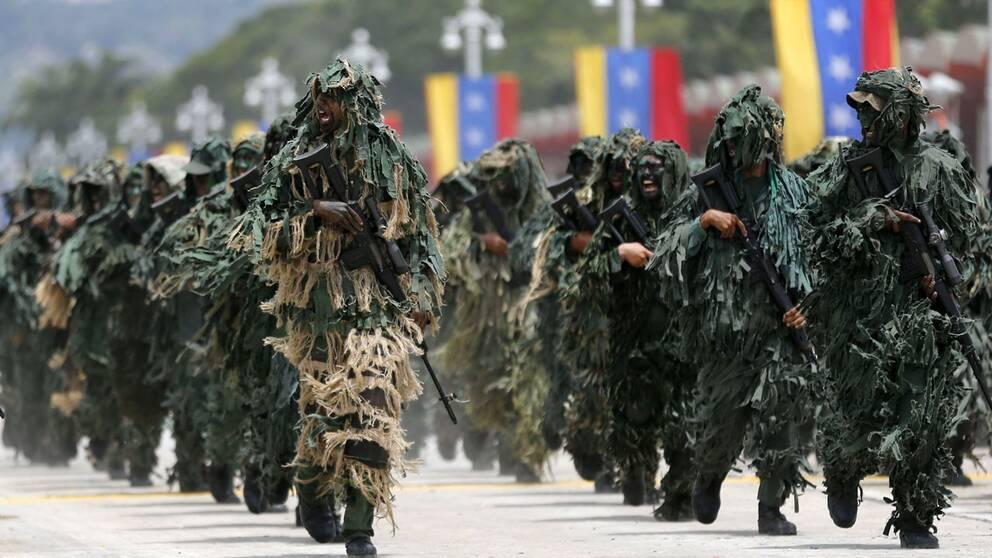 Militären får en stor roll i Venezuela, nu också för att trygga livsmedelsförsörjningen