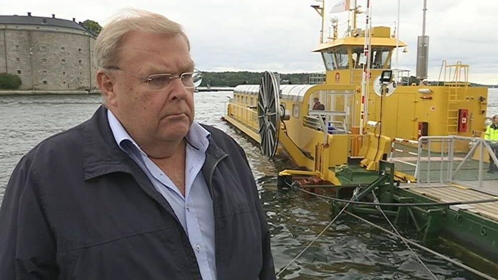 Färjerederiets chef Anders Werner