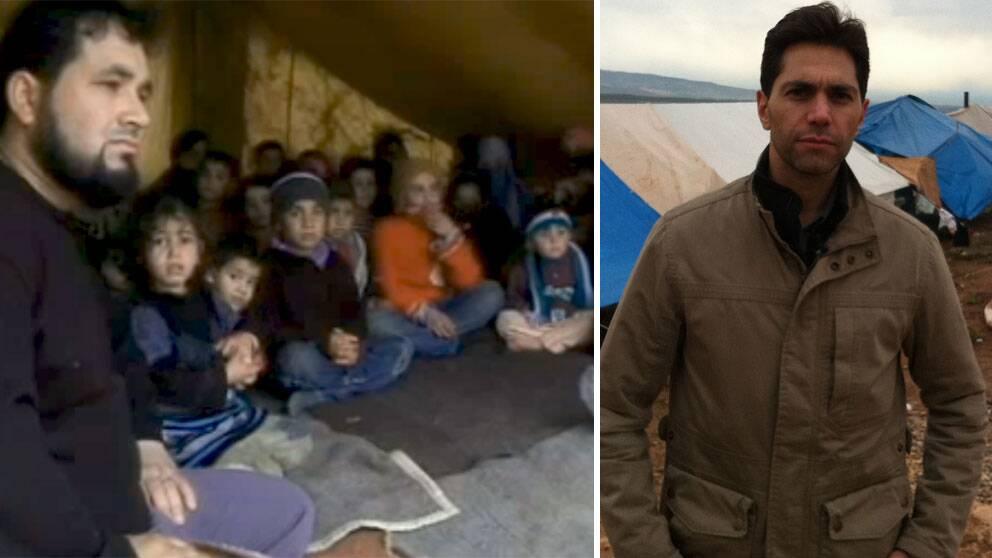 Efter Samir Abu Eids reportage om familjernas situation i flyktinglägret har nu familjerna fått hjälp – av andra syrier.