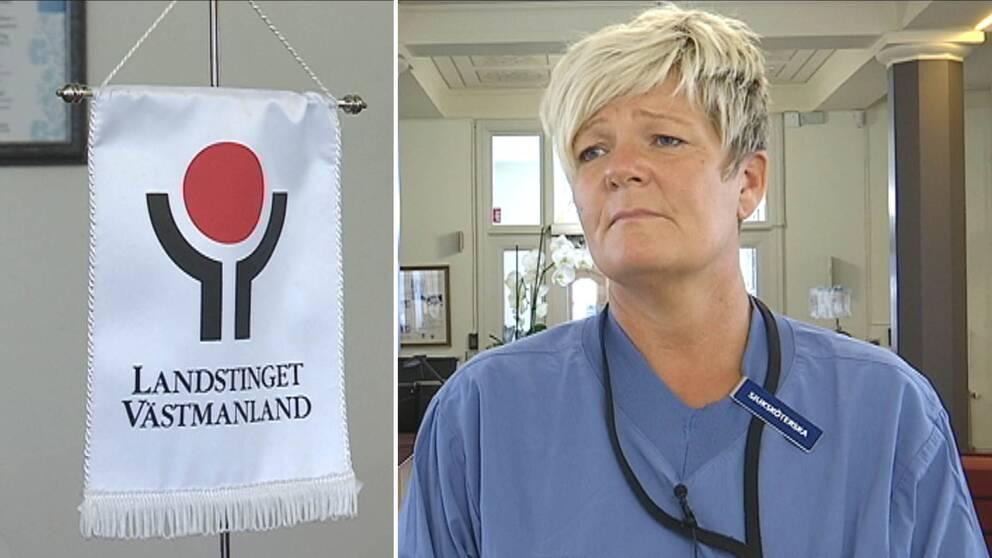 Liselott Sjöqvist, biträdande sjukhuschef på Västmanlands sjukhus.