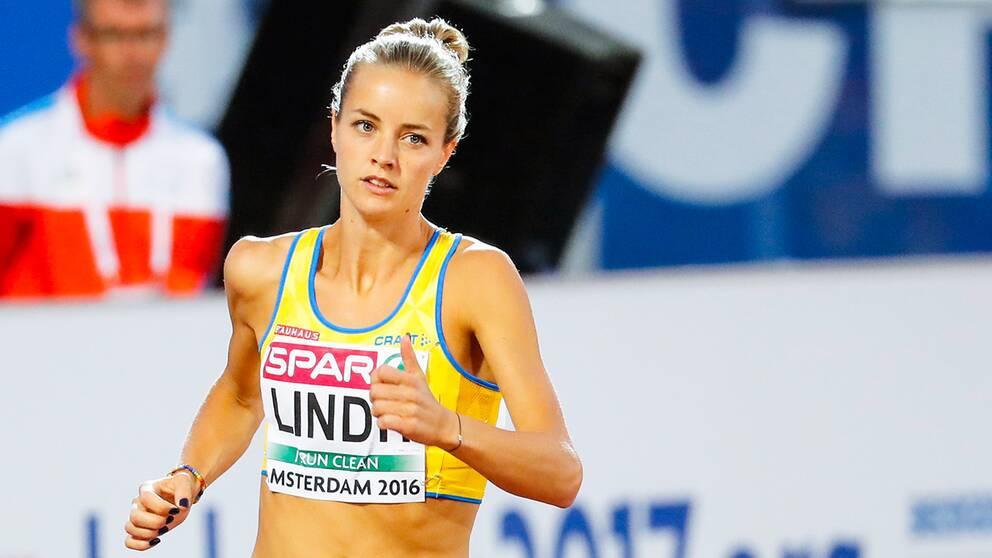 Lovisa Lindh har siktet inställt på Maria Akrakas svenska rekord från 1994.