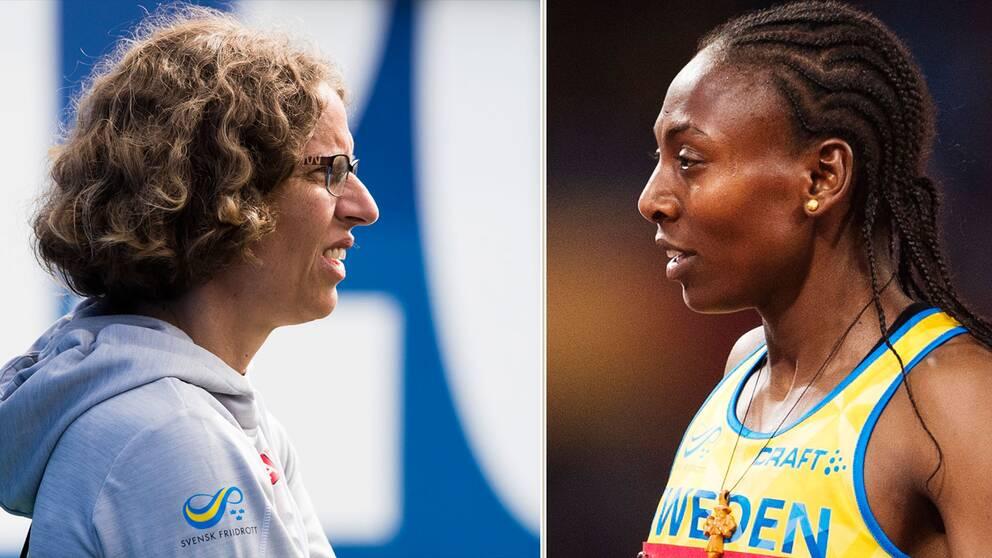 Karin Torneklint menar att Abeba Aregawi tog det negativa OS-beskedet på ett bra sätt.