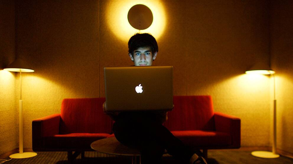 Internetaktivisten Aaron Swartz blev 26 år. Foto: Scanpix/AP