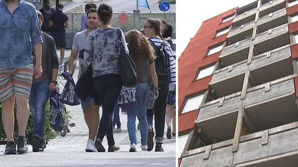 Studentbostader klara i kista
