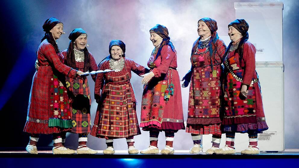Rysslands Buranovskij Babushki