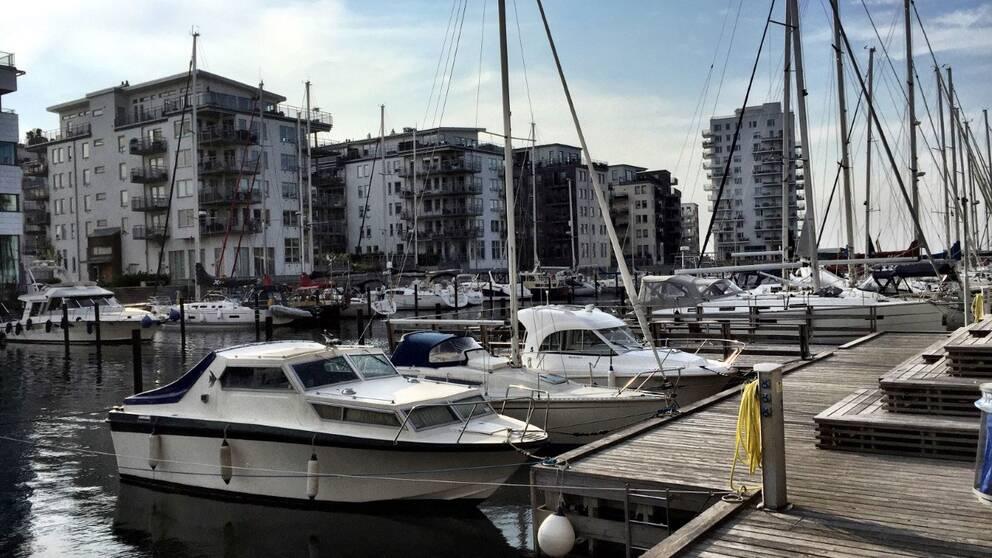 Hamnen i Dockan i Malmö