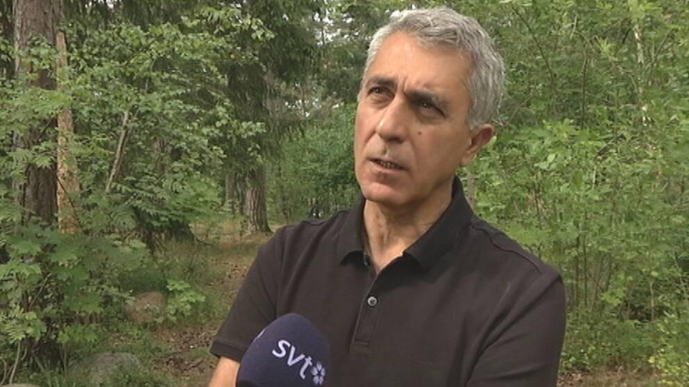 Keya Izol, som är ordförande för det Kurdiska riksförbundet i Sverige