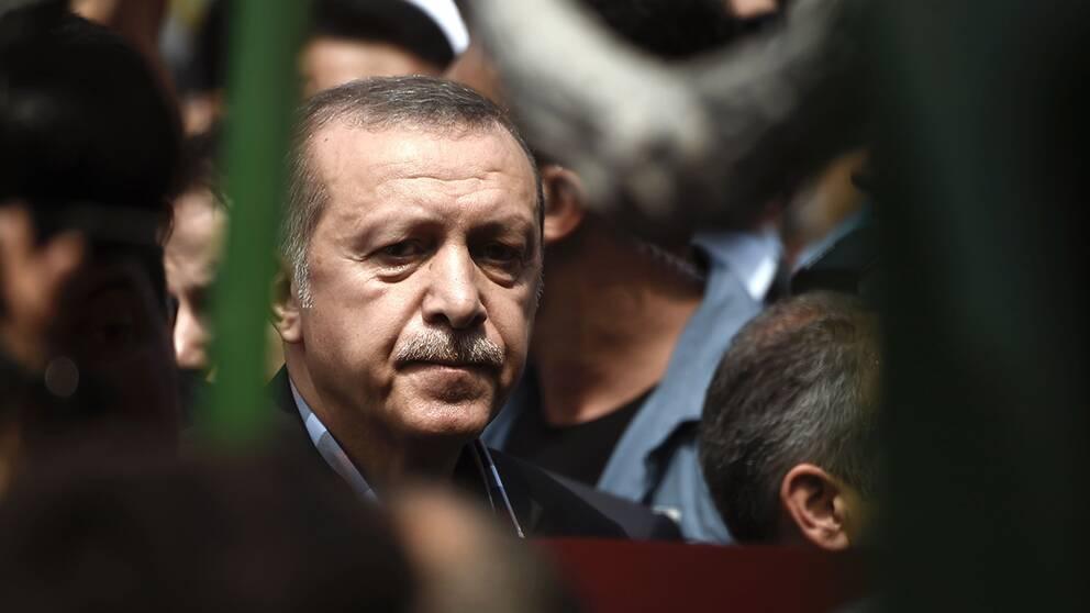 President Recep Tayyip Erdogan kan gå stärkt ur kuppförsöket.