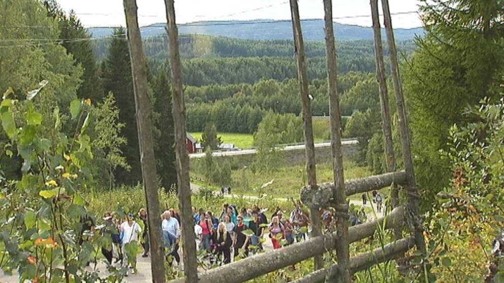 Pilgrimsfärd längs S:t Olavsleden