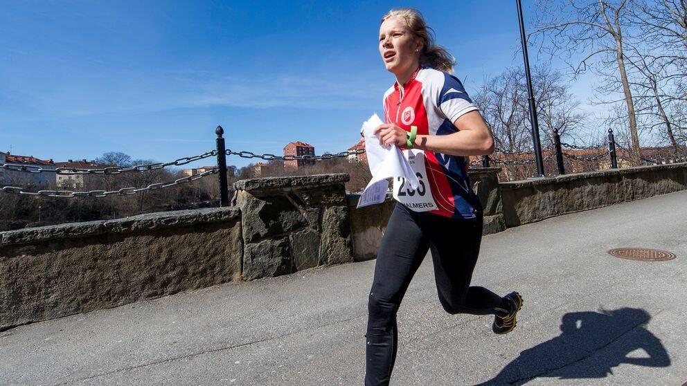 """Sara Hagström gör VM-debut som """"världens bästa förstaårssenior""""."""