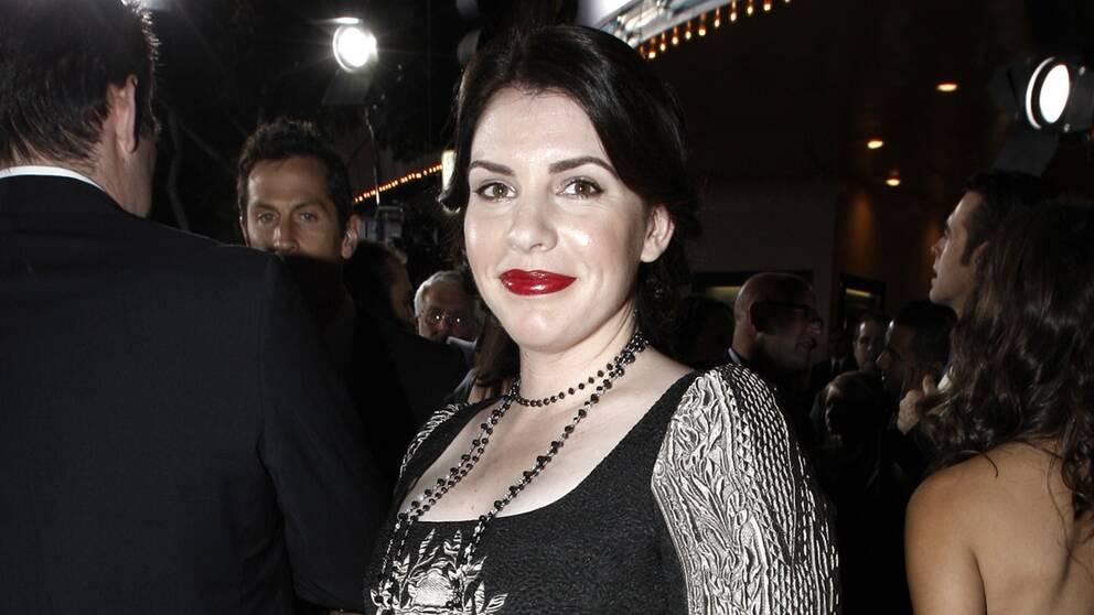 """Stephanie Meyer på filmpremiär för """"The Twilight Saga: New Moon""""."""