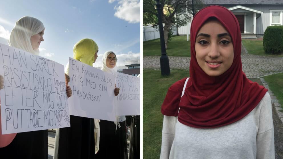 För tre år sedan demonstrerade muslimska kvinnor mot trakasserier i Stockholm. Enligt Gehad El Sayed har kränkningarna ökat sedan dess.