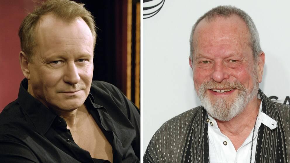Stellan Skarsgård och Terry Gilliam.