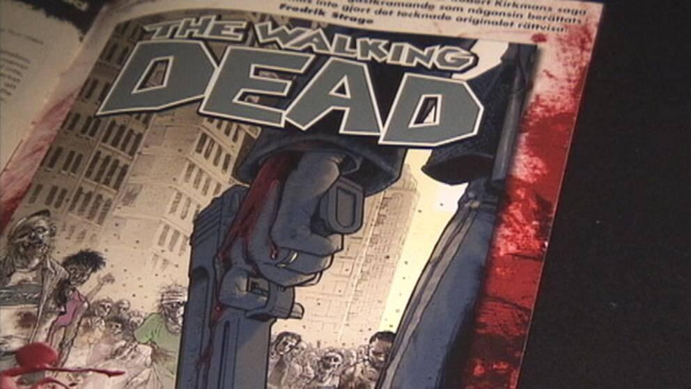 """""""The Walking Dead"""" på papper."""