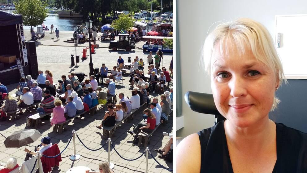 Askersundsfestival och Åsa Pitkänen i montage