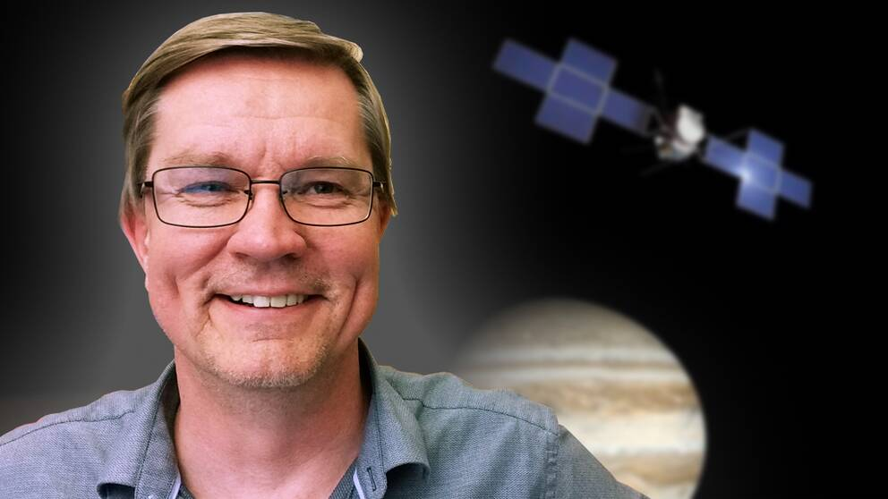 Jan-Erik Wahlund, forskningsledare i Uppsala