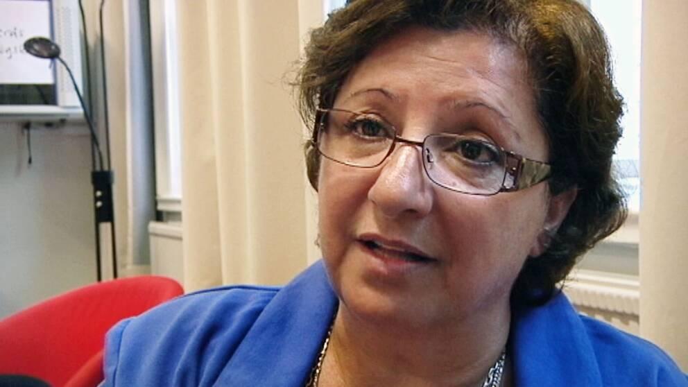 Mariam Afrasiabpour, ordförande för IKKR.