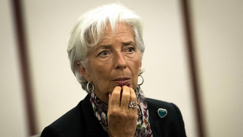IMF-chefen Christine Lagarde.
