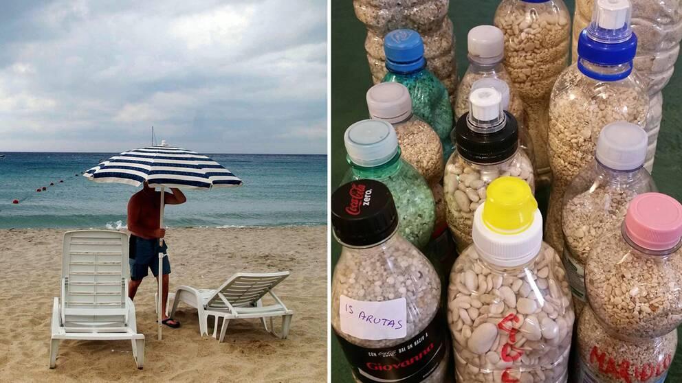 Stulen sand från Sardinien