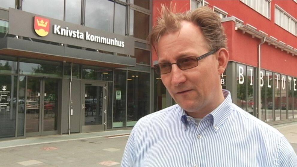 Klas Bergström (M) Knivsta kommun