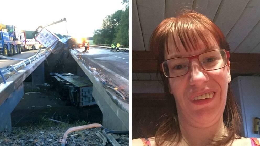 Lastbilsolyckan och Frida Elgander Paulsen