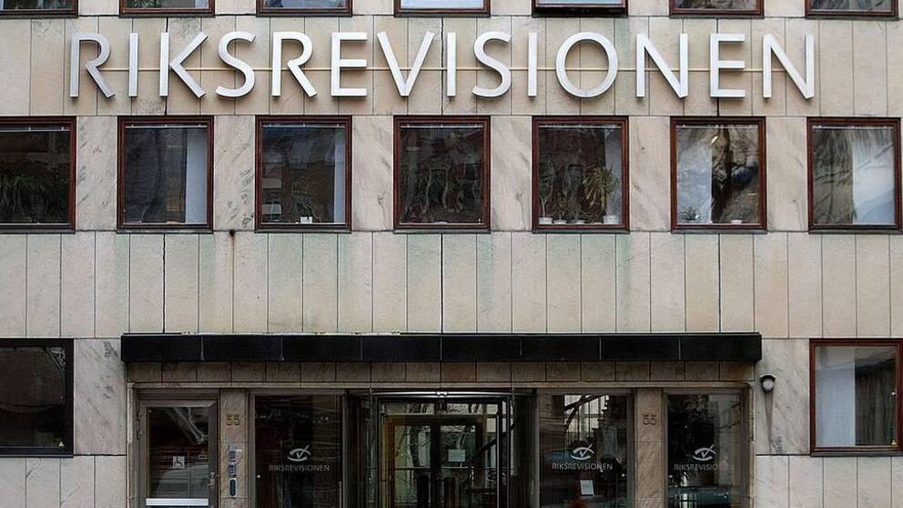 Riksrevisionens kontor på Östermalm i Stockholm.