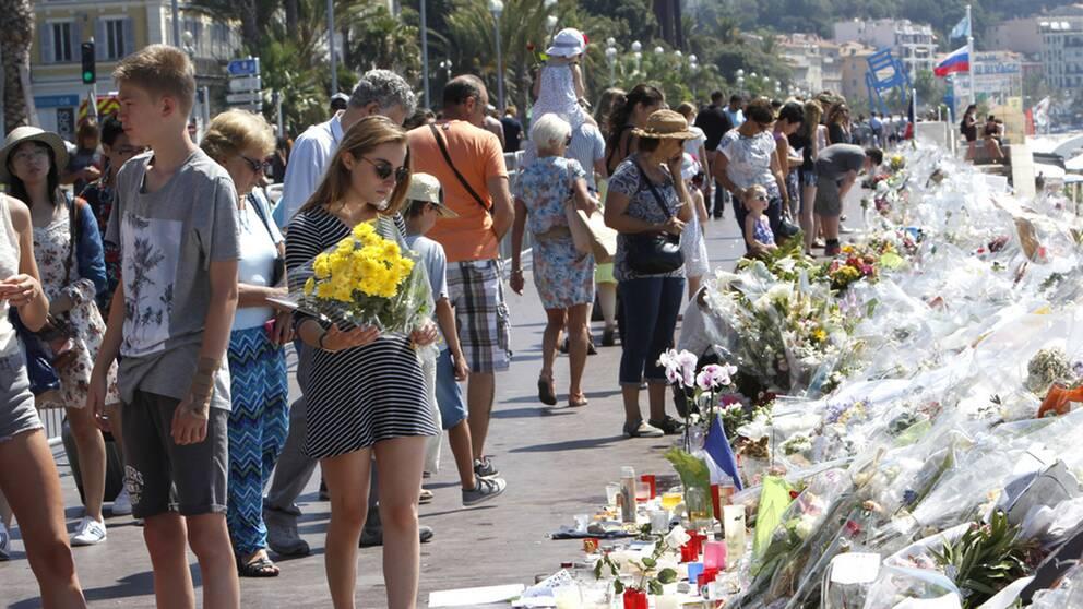 Den nationella enighet och det samförstånd som rått över partigränserna efter de två förra terrordåden, verkar med Nice vara som bortblåst. Arkivbild.