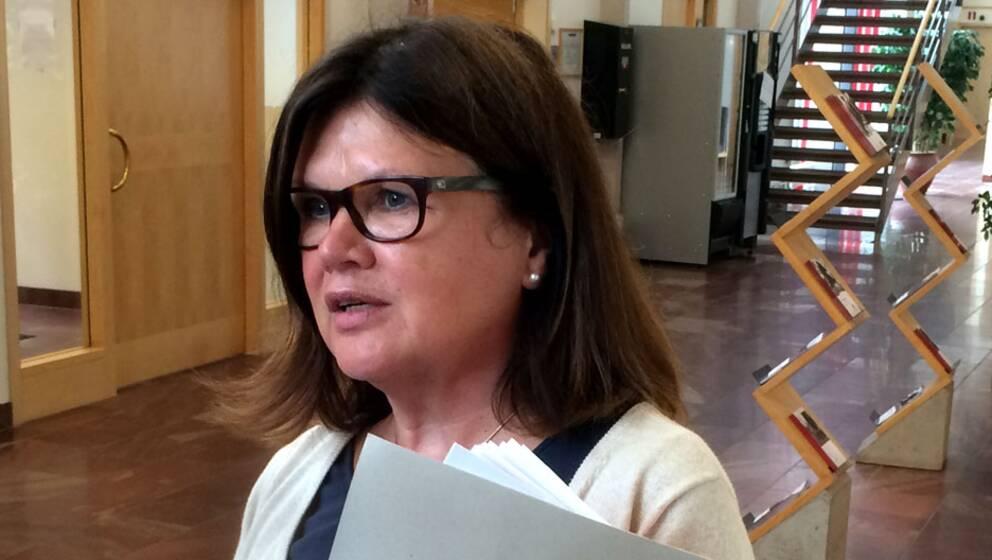 Åklagare Gun-Britt Ström.