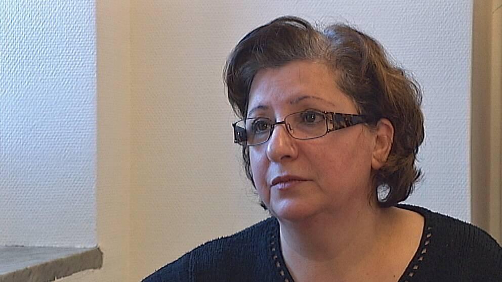 Mariam Afrasiabpour, ordförande i IKKR.