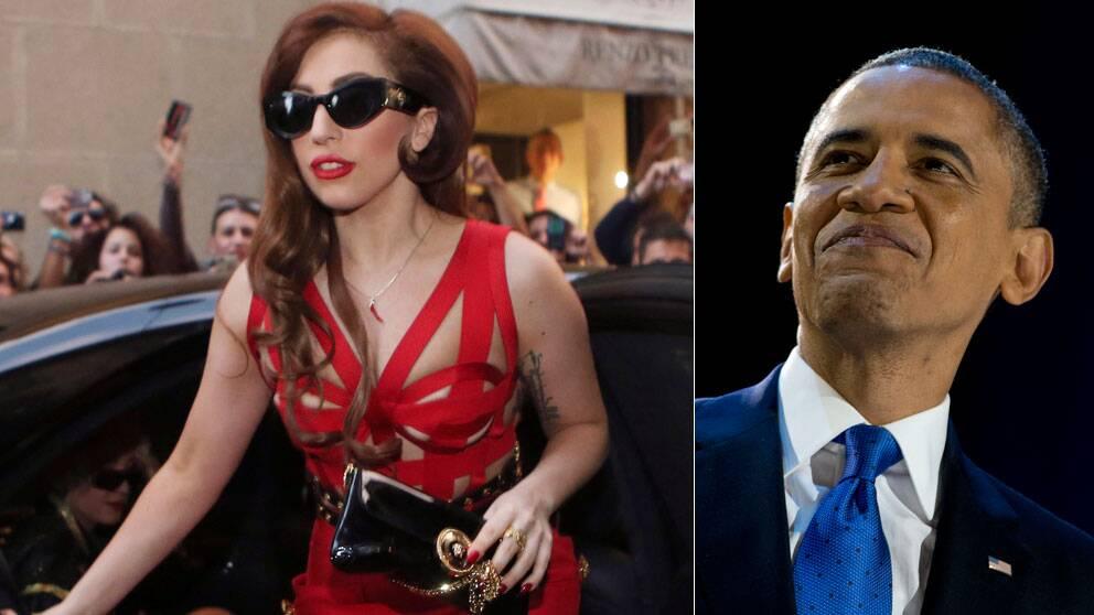 Lady Gaga väntas uppträda på en fest i Vita Huset på tisdag.