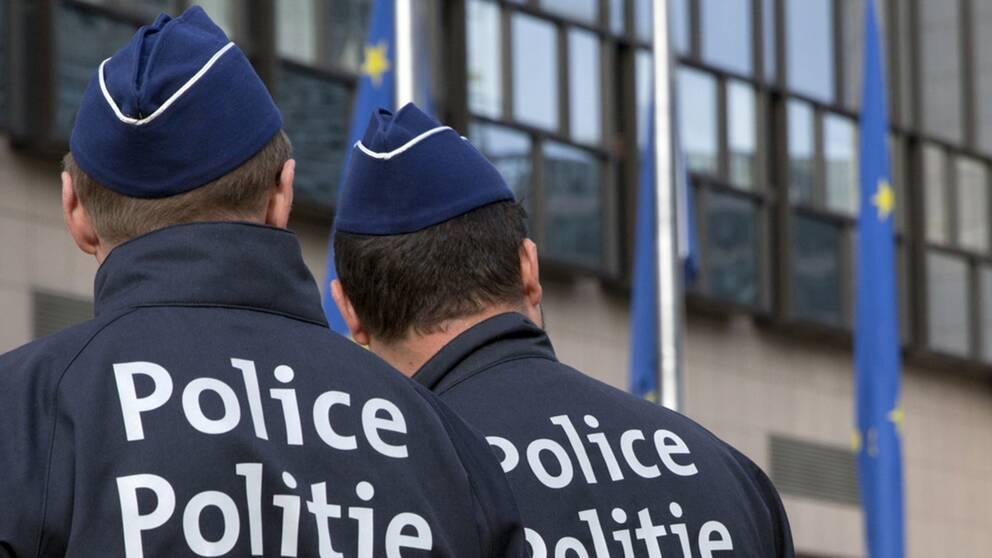 Bevakningen av EU-högkvarteret och andra institutioner i Bryssel har skärpts efter attentaten på flyggplatsen och tunnelbanan i mars. Arkivbild.