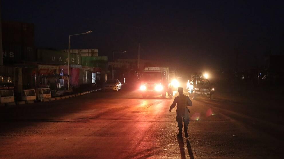 En stor explosion hördes i Kabul i Afghanistan vid 01.30-tiden lokal tid, enligt Reuters. Ljudet hördes över stora delar av staden och fick rutor att skaka.